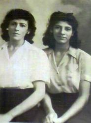 Daughters of George and Susana Gomez, Juanita Gomez Jaques Cannon and Nelly Gomez Silvas.