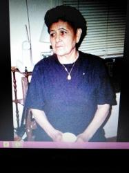 Florencia Gomez Montelongo 1928-2011, daughter Julian R Gomez