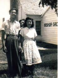 Margaret Gomez and husband Albert Pena Sr.  She is the daughter of Julian R Gomez and the niece of George R and Susana G