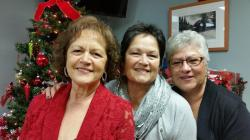 Barbara Rosales Patton and Sisters, daughters of Manuel Gomez, grandaughters of Savina Gomez Rosales,nieces of George R