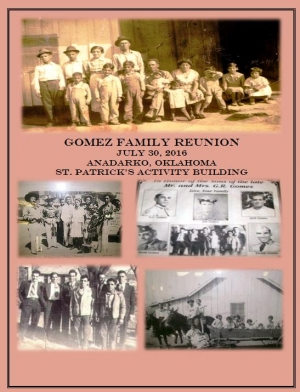 George and Susana Family Reunion 2016:  88 Years in Anadarko, OK